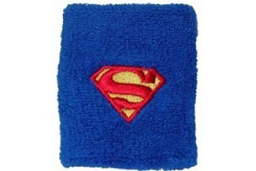 Superman Logo Embroidered Wristband