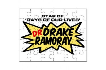 'Dr Drake Ramoray' Doctor Puzzle by CafePress