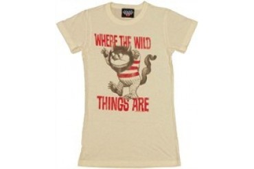 Where the Wild Things Are Stripe Threatening Baby Doll Tee by JUNK FOOD