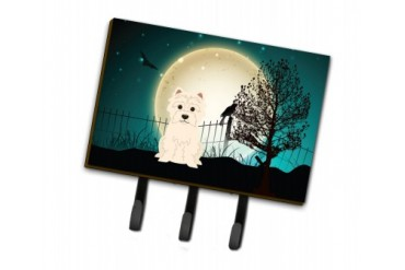 Halloween Scary Westie Leash or Key Holder