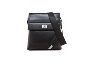 Swiss Polo Flap Leather Bag