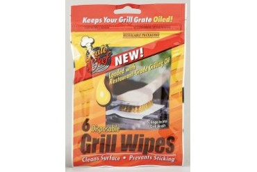 36 Pack Grate Chef 101-1200 Grill Wipes Clean And Oil Your Grill