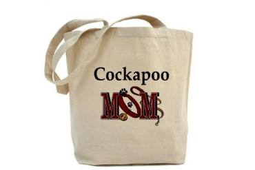 Cockapoo Mom Humor Tote Bag by CafePress