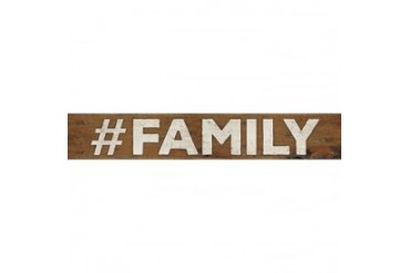 #FAMILY Poster Print by Marla Rae (36 x 6)