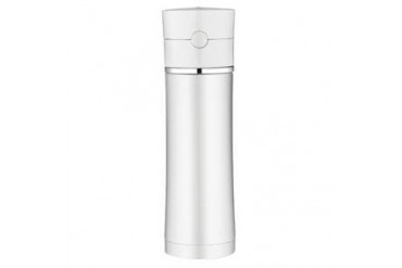 Thermos Sipp Vacuum Insulated Hydration Bottle 18oz Ss white