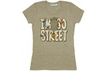 Sesame Street I'm So Street Group Baby Doll Tee by MIGHTY FINE