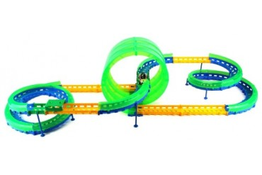 Extreme Competition Whistle Control Toy Car amp Track Playset