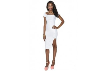 Body wave midi dress