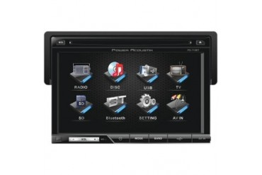 Power Acoustik Pd-710 7 Single-Din In-Dash Tft lcd Touchscreen Dvd