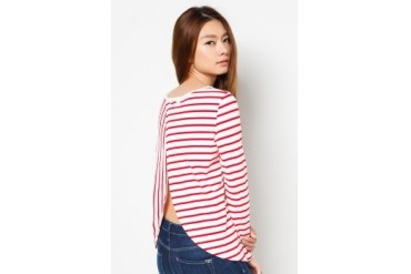 Stripes Long Sleeve Top