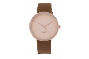 Something Borrowed Matt Round Face Watch