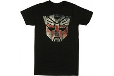 Transformers Autobot Scratch Logo Jack of All Trades T-Shirt Sheer