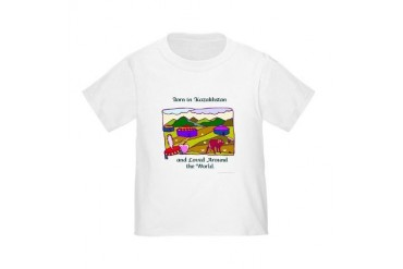 Born in Kaz Toddler Tshirt