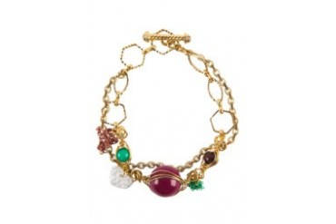 Work Collection Multicoloured Beads Bracelet