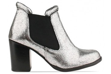 To Be Announced Edith in Pewter Leather size 6.0
