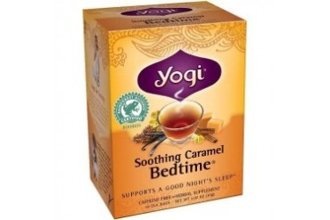 Yogi Organic Herbal Tea Soothing Caramel Bedtime