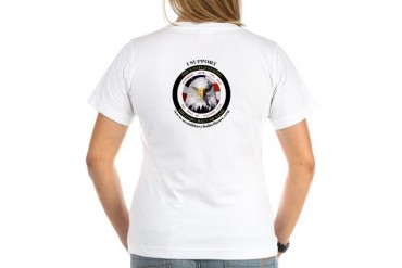 US Military Hall of Fame Military Women's V-Neck T-Shirt by CafePress
