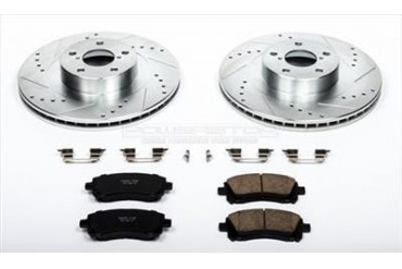 Power Stop Performance Brake Upgrade Kit K2369 Replacement Brake Pad and Rotor Kit