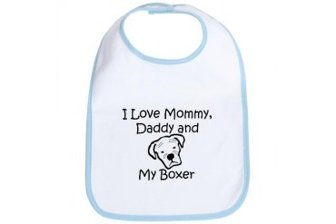 I Love .... Baby Bib by CafePress