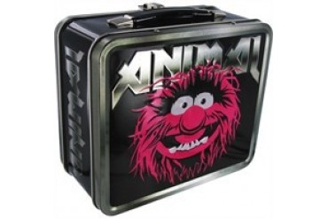 Muppets Animal Rock Star Metal Name Lunch Box
