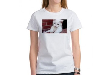 Oklahoma Kitty Cat Women's T-Shirt by CafePress