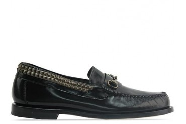 Caminando Bit Studs Loafer Mens in Negro size 8.0