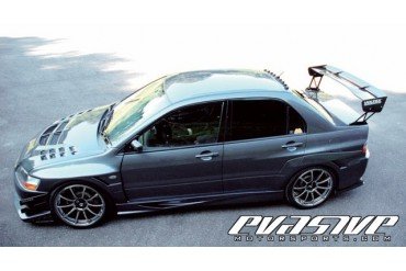 Voltex Side Skirt Mitsubishi Lancer Evolution IX 06-07