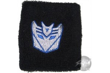 Transformers Decepticon Silver Wristbands