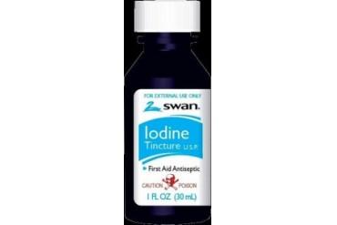 Swan Iodine Tincture First Aid Antiseptic