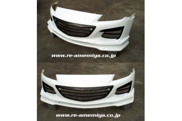 RE Amemiya Carbon AD Eight Facer EVO FG Front Bumper Mazda RX-8 03-11