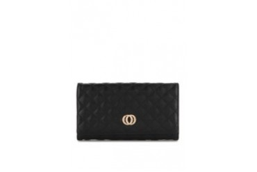 HUER Ciera Quilted Folding Wallet