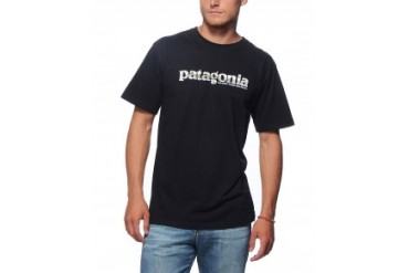 Patagonia Short Sleeve Logo T-Shirt Black, M