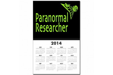 Paranormal Researcher Ufo Calendar Print by CafePress