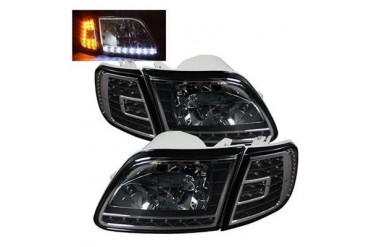 Spyder Auto Group Crystal Headlights 5014184 Headlight Replacement