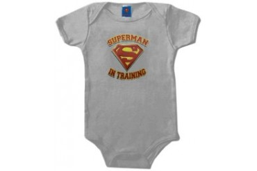 Superman In Training Infant Onesies