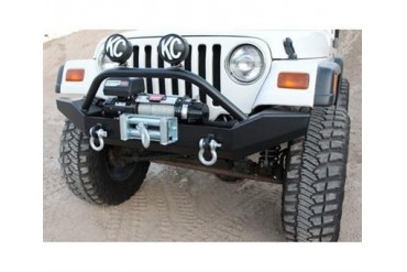 Rock Hard 4x4 Parts Extreme Duty Winch Mount Front Bumper with Grill Guard RH4010 Front Bumpers