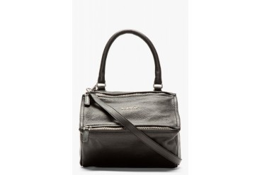 Givenchy Black Leather Small Sugar Pandora Shoulder Bag