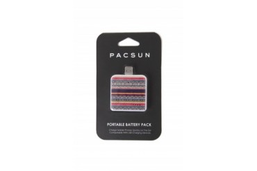 Womens Pacsun - Pacsun Tribal Portable Battery Charger