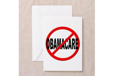 Anti no obamacare anti obama greeting card by cafepress price anti no obamacare anti obama greeting cards pk of 10 by cafepress m4hsunfo
