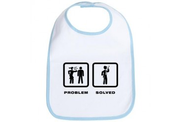 Security Guard Family Bib by CafePress