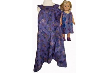 Matching girl and doll clothes Elegant Size 14 1 2