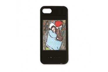 093007007.jpg Vintage iPhone Charger Case by CafePress