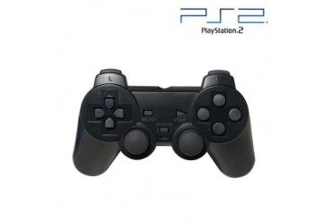 PS2 Controller (Black) For PlayStation 2