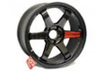 Volk Racing TE37SL Diamond Black Staggered Wheel Set 18x10 18x11 Nissan GT-R R35