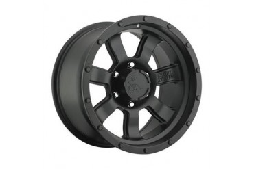 Pro Comp Alloy Wheels Metal Mulisha Series 5038 General, 17X9 with 6 on 5.5 Bolt Pattern - Satin Black 5038-7983 Pro Comp Xtreme Alloy Wheels