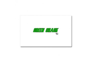 Green Crack Health Car Magnet 20 x 12 by CafePress