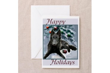 Belgian SheepdogGroenendael Cards Pk of 10 Pets Greeting Cards Pk of 10 by CafePress