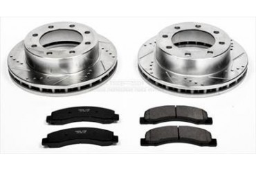 Power Stop Performance Brake Upgrade Kit K1885 Replacement Brake Pad and Rotor Kit