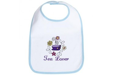 Tea Lover Party Bib by CafePress