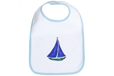 Sailboat Sports Bib by CafePress
